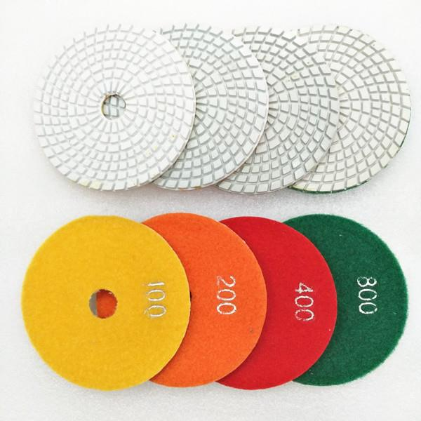 Turbo Resin Wet Polishing Pads For Various Stone Surface