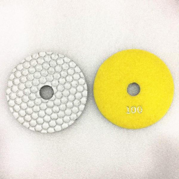 Murat Tools White Dry Polishing Pads For Granite And Marble