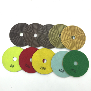 5 Inch Flexible Polishing Pad For Concrete Dry Polishing