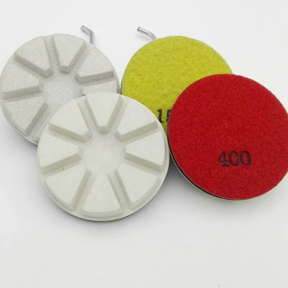 3 Inch Resin Concrete Floor Grinding Pads / Concrete Tools