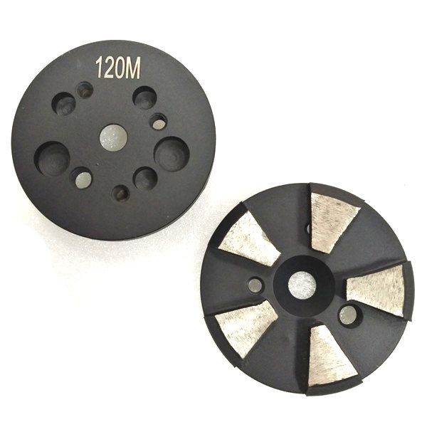 3 inch Metal Grinding Disc with multi-connection-5 Segments